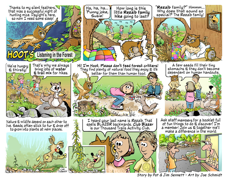 Hoot's Listening In The Forest | Hernandi's Blog